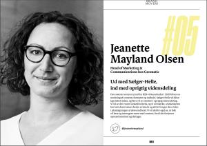 jeanette mayland olsen content marketing publikation ekspertudtalelse
