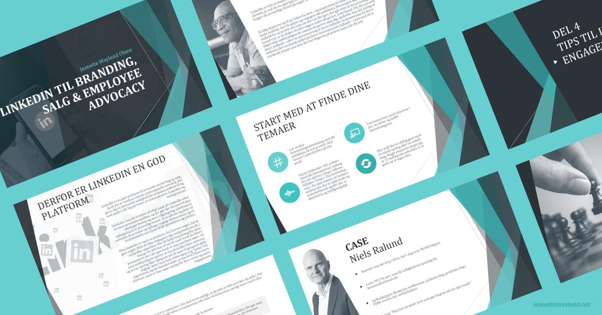 LinkedIn-guide branding salg employee advocacy preview udsnit